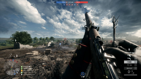 Battlefield 1  A beautiful representation of a horrible time